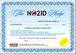 NO2ID Pledge